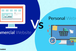 corporate-vs-personal-website