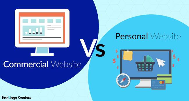 corporate-vs-personal-website